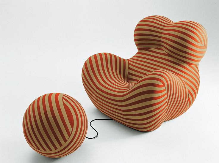 Armchair: SERIE UP 2000 - Collection: B&B Italia - Design: Gaetano Pesce