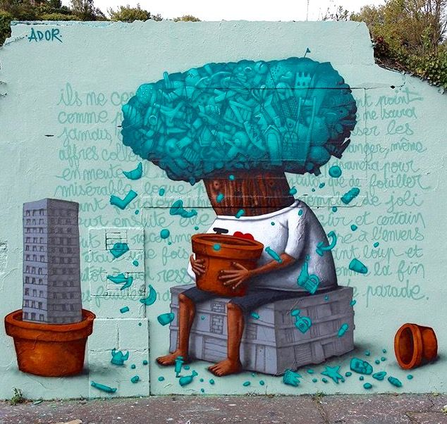 by Ador in Nantes, France, 10/15 (LP)
