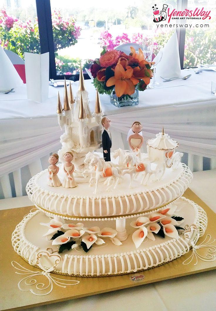 Fairytale Wedding Cake - Yeners Way