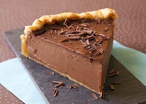 Flan pâtissier au chocolat