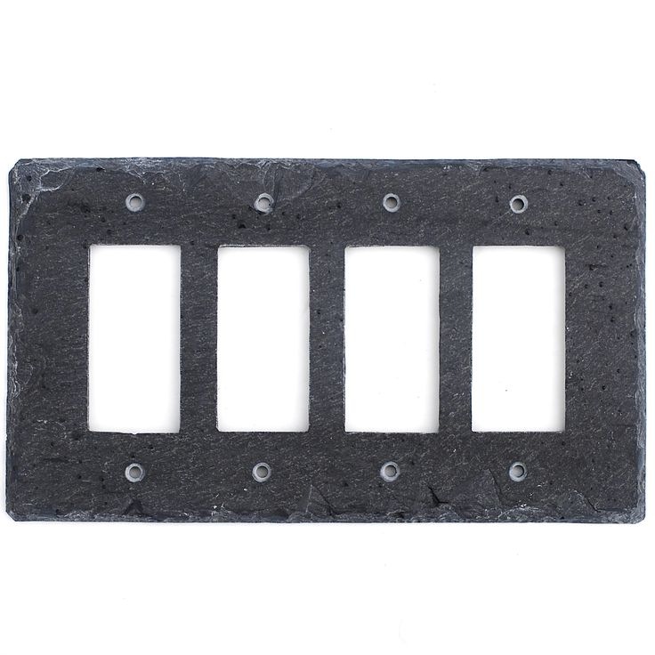 108 best light switch and outlet covers slate wall plates for Decor light switch