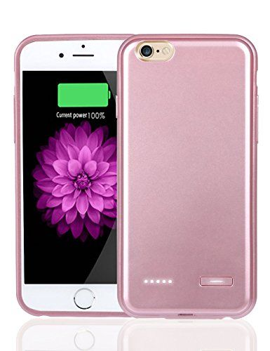 """iPhone 6S Plus Battery Case, Jakpopin iphone 6 plus Battery Case[Rose Gold] Portable Charger Case for iPhone 6S plus [Slim] External Protective Battery Case 5.5"""" 3700mAh Pack Juice Bank Case Rose Gold:20% off and Free Shipping on Every Order - http://reviewsv.com/chargercases/iphone-6s-plus-battery-case-jakpopin-iphone-6-plus-battery-caserose-gold-portable-charger-case-for-iphone-6s-plus-slim-external-protective-battery-case-5-5-3700mah-pack-juice-bank-case-rose-gold/"""