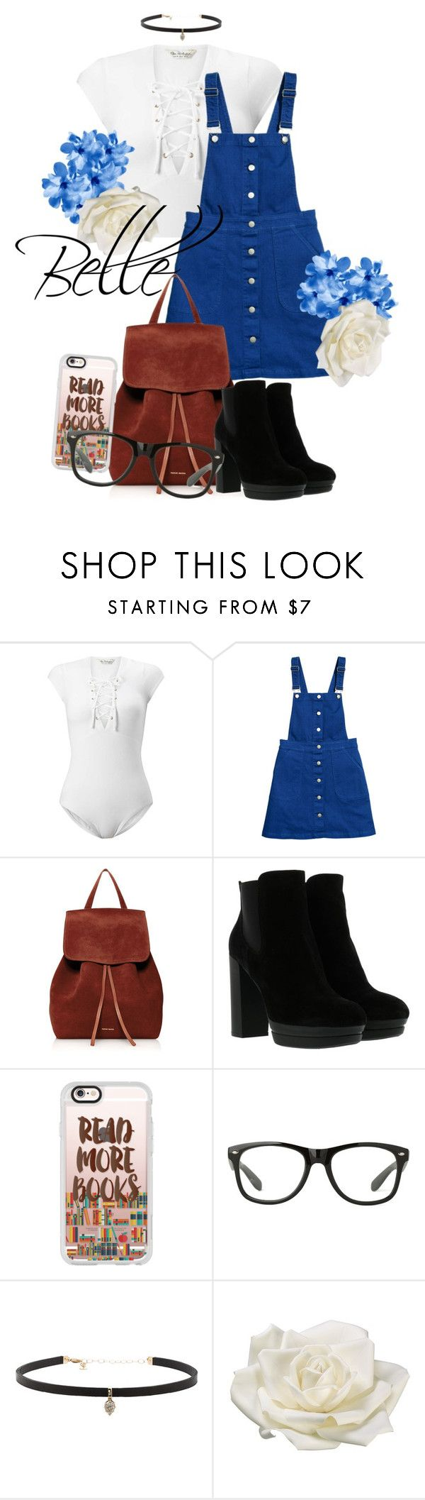 """Belle"" by grraciie-386 on Polyvore featuring Miss Selfridge, Mansur Gavriel, Hogan, Casetify, Carbon & Hyde and Allstate Floral"