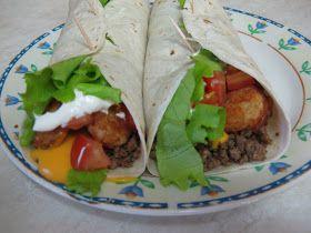 Taco Johns Meat & Potato Burrito