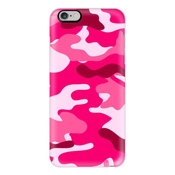 iPhone 7 Plus/7/6 Plus/6/5/5s/5c Case - Camo Pink ($40) ❤ liked on Polyvore featuring accessories, tech accessories, iphone case, slim iphone case, apple iphone case, iphone cases, pink iphone case and iphone cover case