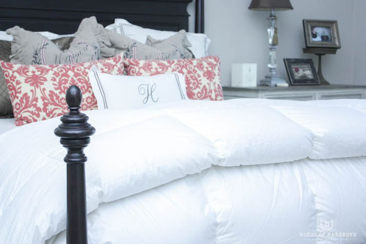 I have been on the hunt for the best down comforter and I have found it! I love a cozy bed and this comforter is exactly what it was needing!