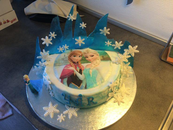 Frost kage, 4 år, min egen prinsesse ❤️