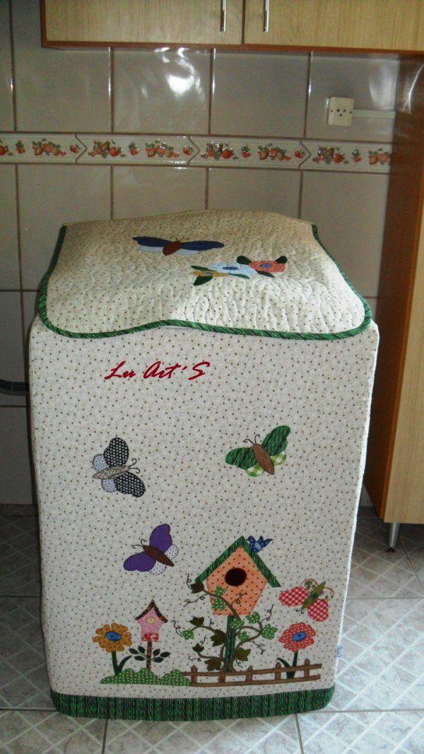 Capa para máquina de lavar roupa                                                                                                                                                                                 Mais
