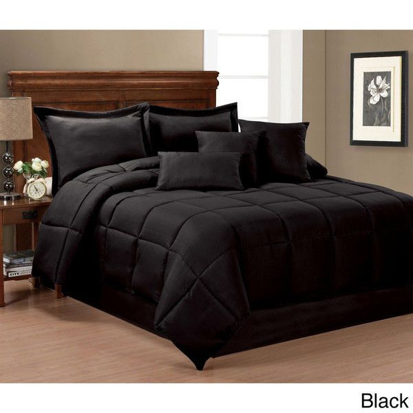 All Black Bedding Sets Queen