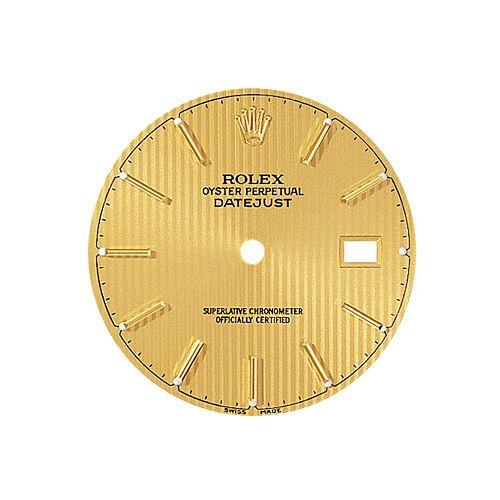 GENUINE ROLEX  REF. 16233 DATEJUST INDEX DIAL CHAMPAGNE WITH SET HANDS BRAND NEW