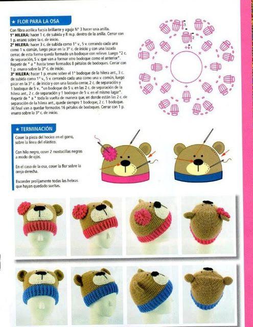 PATRONES GRATIS DE CROCHET: Patron gratis crochet de un lindo gorro ...