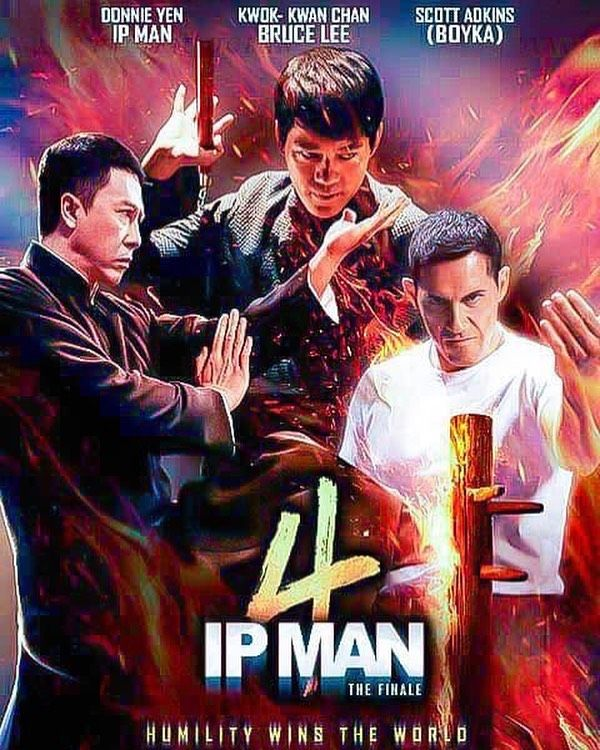 2 813 Likes 26 Comments Wing Chun Lessons More Wing Chun Lessons On Instagram New Poster For Ip Man 4 Coming Soon To Th Ip Man 4 Ip Man Ip Man Movie