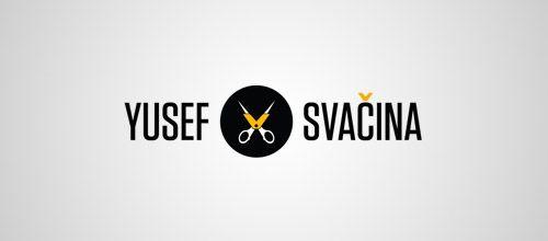 film scissors logo design