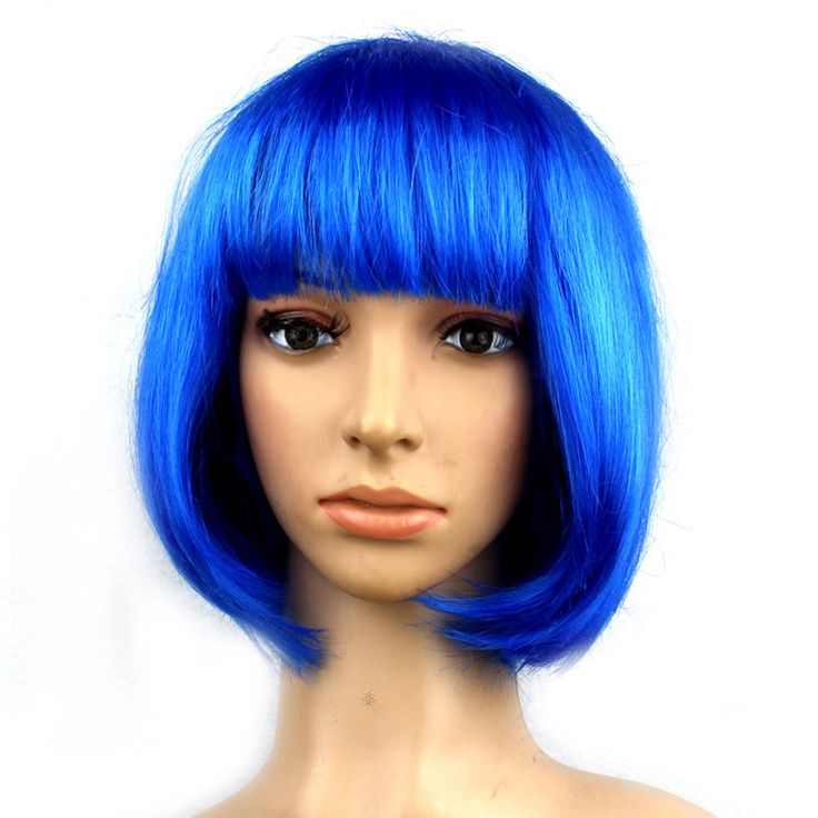 14 Colors Women BOBO Wig Cosplay Wigs Straight Short Wigs Christmas Carnival Makeup Party Club Synthetic Girls Female Wigs S20 #Affiliate