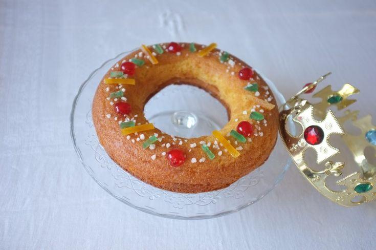 Recette sans gluten de Brioche des Rois - glutenfree French Kings' Cake