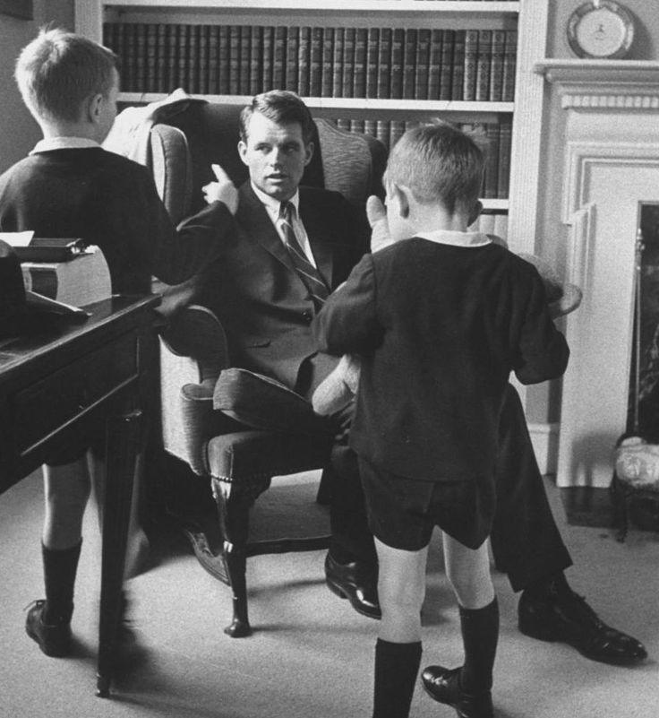 Bobby, Robert Jr., & Joseph Kennedy II