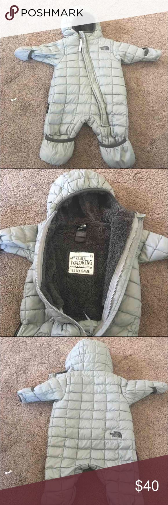 North Face Thermoball Infant Snow Suit Size 0-3 months. North Face Jackets & Coats Puffers