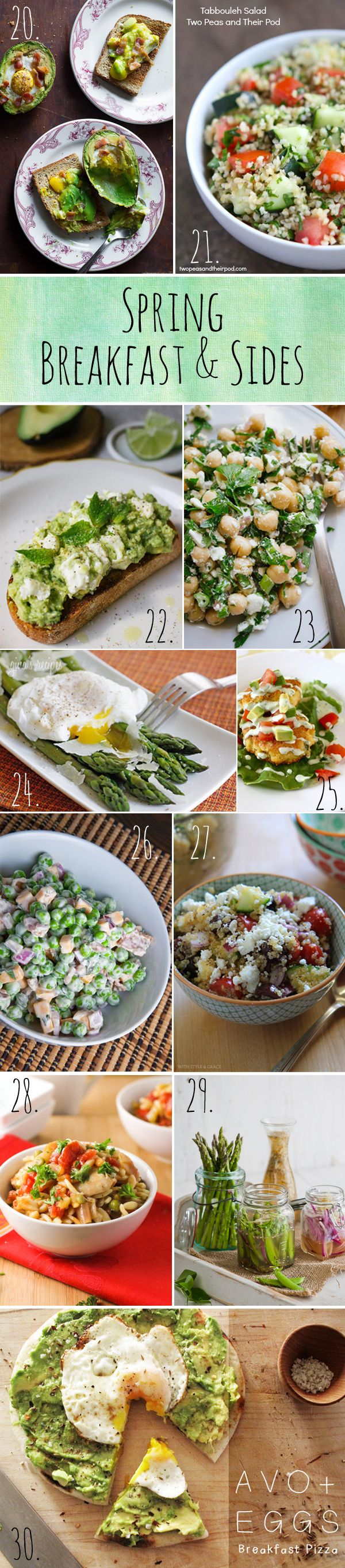 Spring may not officially start until 3/20, but does that mean we can't get a head start on these delicious recipes? #food #recipes #spring