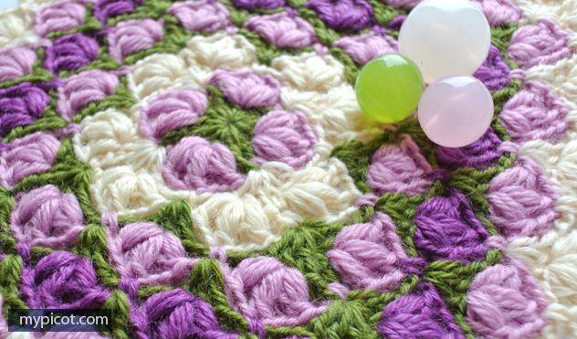 MyPicot | Free crochet patterns step by step ༺✿ƬⱤღ http://www.pinterest.com/teretegui/✿༻