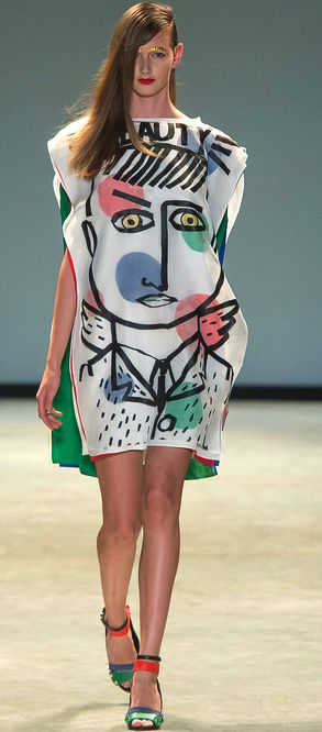 Jean-Charles de Castelbajac, s 2014 Colour blocking Layering Bold use of line