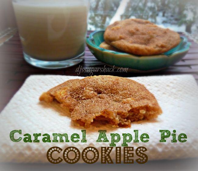 DJ's Sugar Shack l Caramel Apple Pie Cookies
