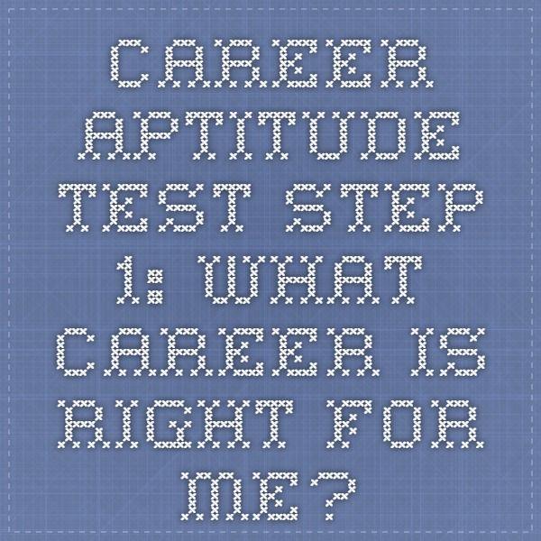 Best 25+ Job aptitude test ideas on Pinterest Career aptitude - career aptitude test