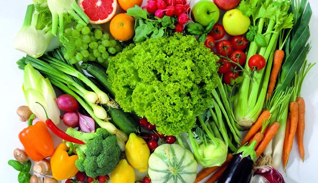 What fruits and vegetables are good for gout