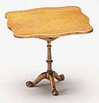 Dollhouse Miniature Tilt Top Tea Table Kit x 3. Bought via Manchester Doll Houses (USA) via Ebay - £14 each inc shipping