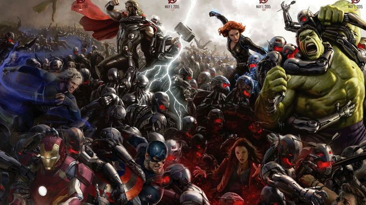 Comic-Con: First Look at Marvel's Avengers in Battle in 'The Avengers: Age of Ultron'