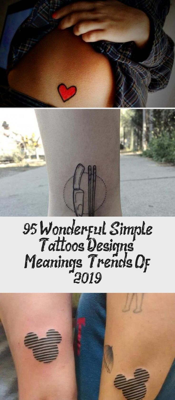 95+ Wonderful Simple Tattoos Designs & Meanings — Trends