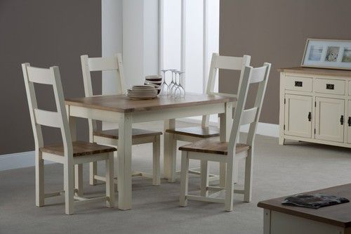 Panama, dining chair, ivory,oak