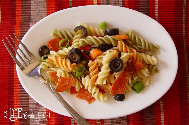 Jamie Cooks It Up!: Pepperoni Pasta Salad
