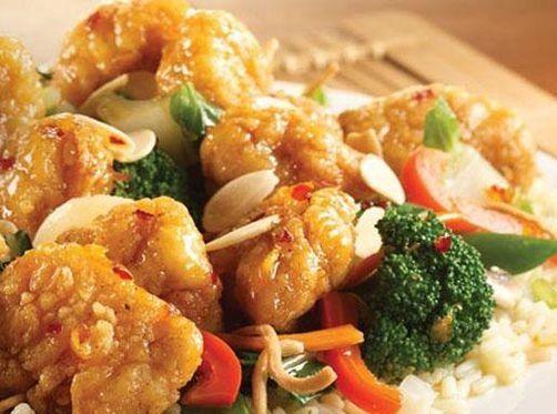 Crispy Orange Chicken Recipe - http://healthyrecipesideas.com/crispy-orange-chicken-recipe/