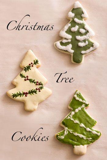 Christmas Tree Cookies :)