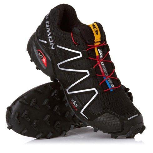 Salomon Speedcross 3 Black/Metallic - Footwear - Tactical Distributors- Tactical Gear
