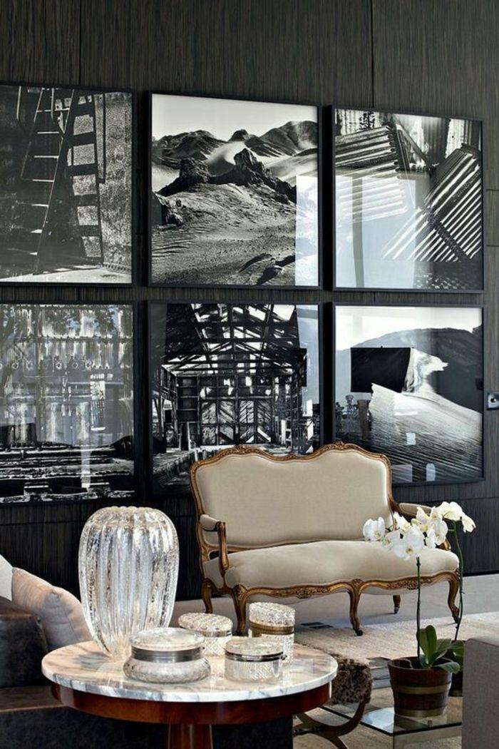 Les 25 meilleures id es concernant cadres blancs sur pinterest murs illustr s arrangements d for Revue art et decoration