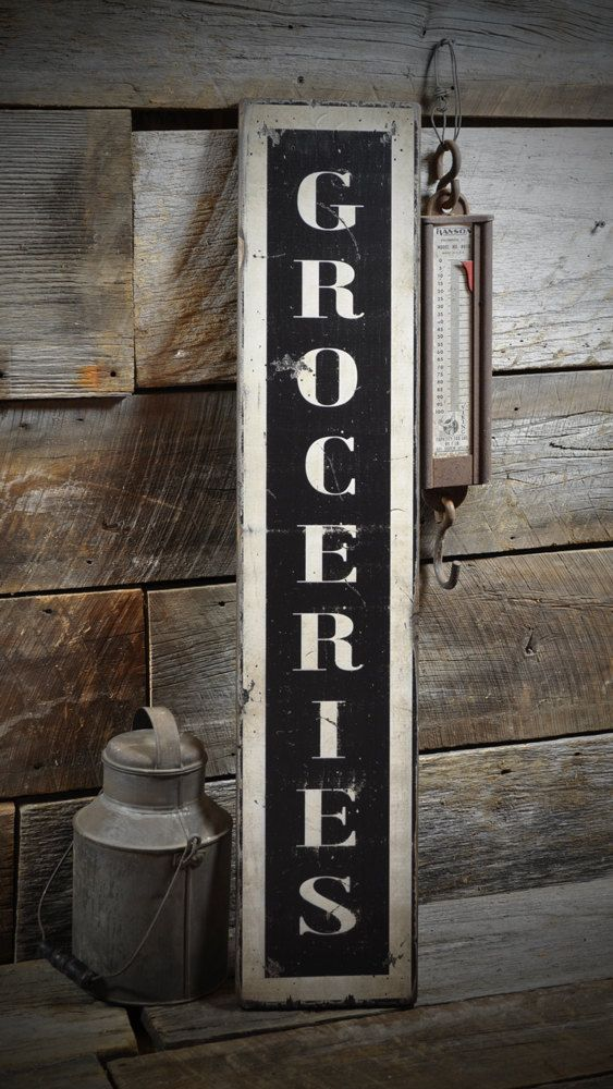 Rustic Wood Kitchen best 25+ vintage kitchen signs ideas on pinterest | vintage wood