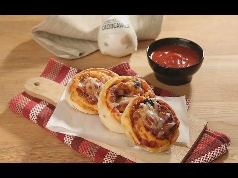 Пицца-роллы с качокавалло