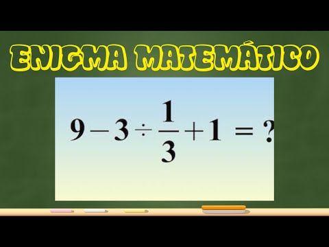 Resolviendo un enigma matemático de moda [por jaqueenmates] - YouTube