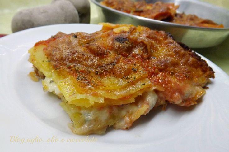 Tortino di Patate alla Pizzaiola