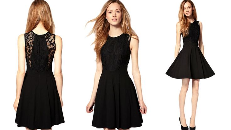 image of cute little black dress | Cute Black Dresses are Perfect for Various Parties