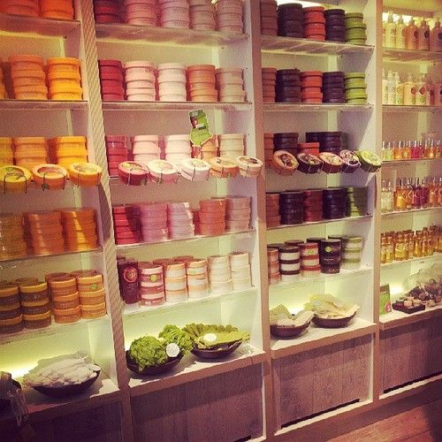 The Body Shop My favorite, and the most wonderful smells..