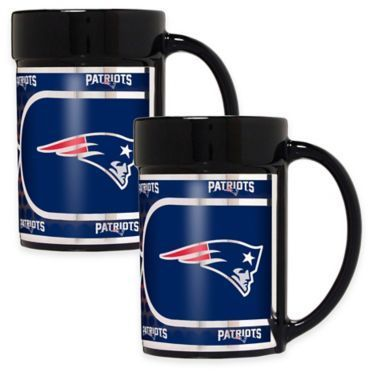 If you rooted for the New England Patriots to win the Super Bowl last year, then you weren't disappointed; so let someone know you're not a sore loser because your team didn't win.  This makes a thoughtful Christmas gift.  NFL New England Patriots Metallic Coffee Mugs (Set of 2)  Disclosure:  This post contains an affiliate link, which leads to the merchant's website.