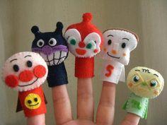 アンパンマンの指人形|Craft Cafe(クラフトカフェ)