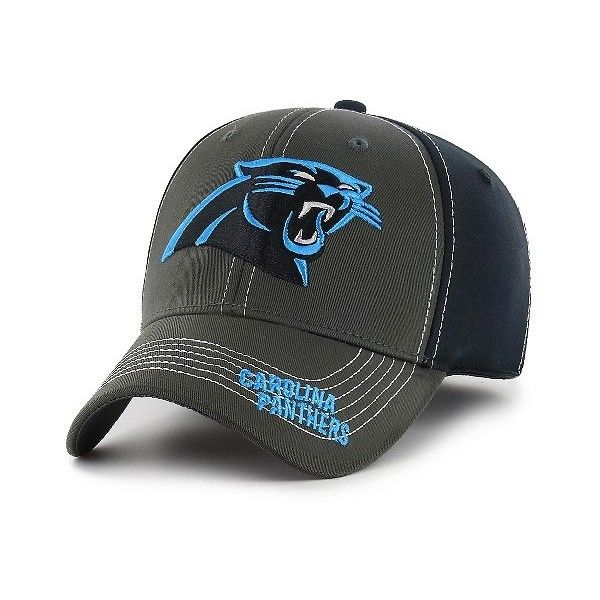 Carolina Panthers Fan Favorite Mass Cornerback Cap, Adult Unisex ($30) ❤ liked on Polyvore featuring accessories, hats, carolina panthers, carolina panthers cap, cap hats, nfl caps, carolina panthers hat and nfl hats