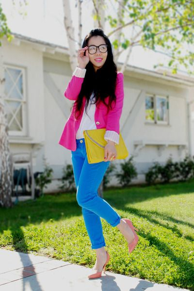 Can you tell I love colorful fashion? *wink* giggle..