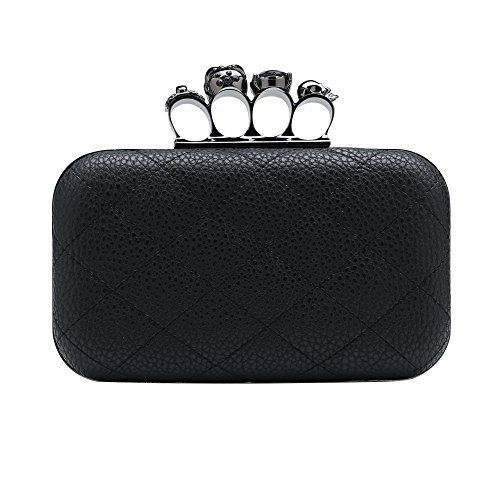 Statement Clutch - Victorian Skull by VIDA VIDA