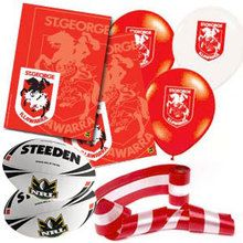 St George Dragons NRL party decorations