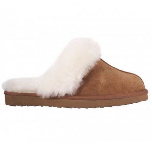 Zippy Sheepskin Slippers | Ladies Sheepskin Slippers - Free Delivery |... ($57) ❤ liked on Polyvore featuring shoes and slippers