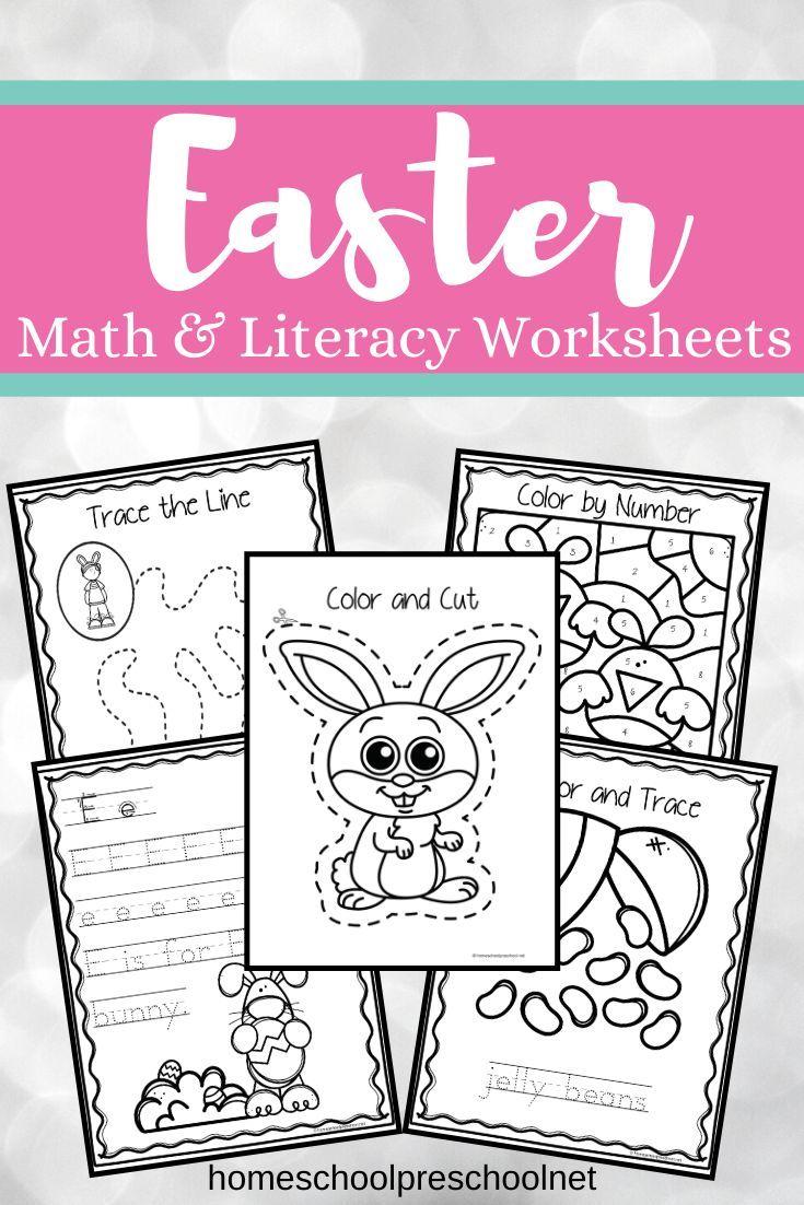 Easter Worksheets For Preschool Easter Worksheets Easter Lessons Easter Preschool [ 1102 x 735 Pixel ]